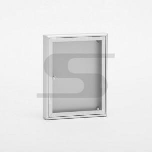 Bacheca portavvisi SB1 Silmec alluminio silver modello 40-111.52/AG