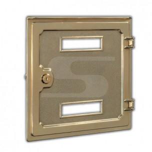 Porta ritiro ottone lucidato a specchio Silmec mod 10-676.61