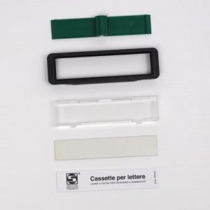 Kit vetrino portanome ricambio 90-026
