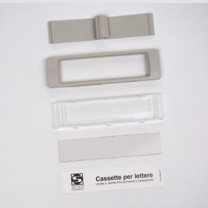 Kit vetrino bianco ricambio Open Air Silmec mod 90-028