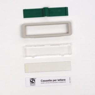 Kit vetrino bianco ricambio Open Air 300 Silmec mod 90-027