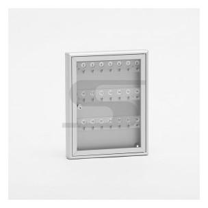 Bacheca portachiavi SB2 Silmec alluminio silver mod 40-211.52/AG