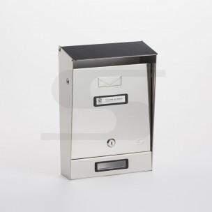 Cassetta tradizionale inox Silmec 10-001