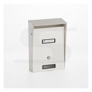 Cassetta Silmec tradizionale colore bianco ral 9001 mod 10-201.01