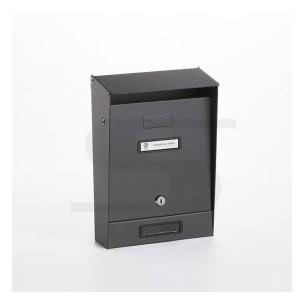 Cassetta Silmec tradizionale colore grigio ferro mod 10-201.84