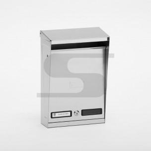 Cassetta tradizionale Silmec formato rivista inox mod 10-012