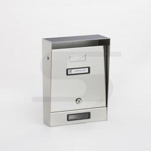 Cassetta Silmec tradizionale inox mod 10-002 senza tetto parapioggia