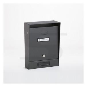 Cassetta Silmec tradizionale colore grigio ferro mod 10-202.84