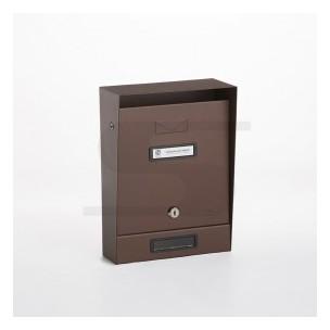 Cassetta postale Silmec tradizionale colore ruggine mod 10-202.69