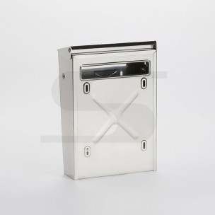 Cassetta Silmec bifacciale per recinzioni inox mod 10-003