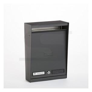 Cassetta Silmec per recinzioni verniciata grigio ferro mod 10-214.84