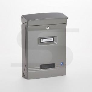 Cassetta Silmec GIOIOSA formato rivista colore grigio ral 9007 mod 10-400.9007