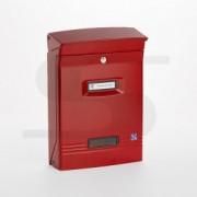 Cassetta Silmec GIOIOSA formato rivista colore rosso ral 3001 mod 10-400.3001