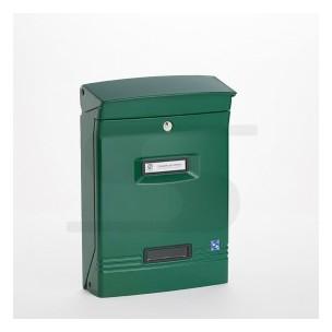 Cassetta  Silmec GIOIOSA formato rivista colore verde ral 6026 mod 10-400.6026