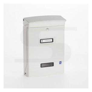 Cassetta Silmec GIOIOSA formato rivista colore bianco ral 9001 mod 10-400.9001