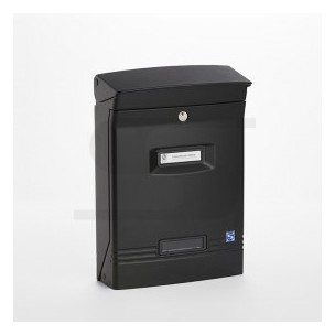 Cassetta Silmec GIOIOSA formato rivista colore nero ral 9005 mod 10-400.9005