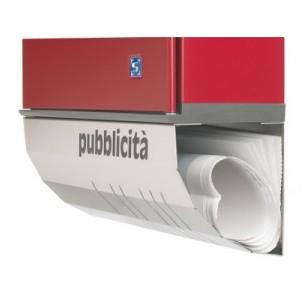 Porta pubblicità Silmec da applicare a cassette serie Serenissima mod. 11-017