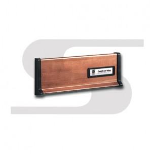 Placca in rame brunito Silmec mod 10-600