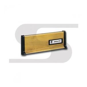 Placca in ottone brunito Silmec mod 10-600.39