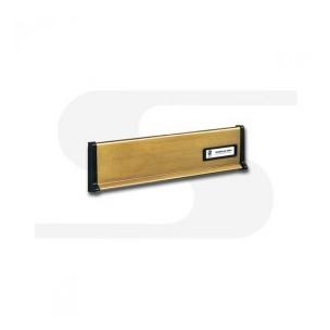 Placca in ottone brunito Silmec mod 10-650.39