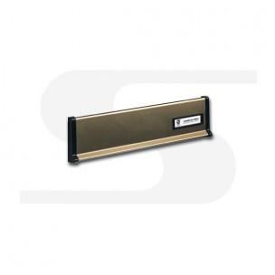 Placca in alluminio bronzo Silmec mod 10-650.53