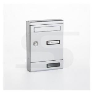 Cassetta Silmec in alluminio S2001 colore silver mod 10-351.72