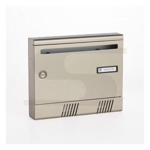 Cassetta Silmec per rivista in alluminio S2001 colore bronzo mod 10-361.73