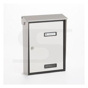 Cassetta Silmec S90 formato rivista colore bianco ral 9001 mod 10-215.01