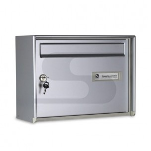 Cassetta Silmec Open-Air da appendere colore silver mod 32-522.72