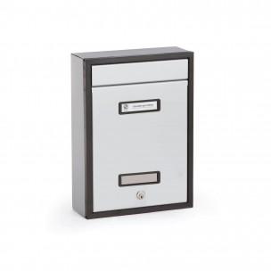 Cassetta Silmec in alluminio SC8 piatta colore silver mod. 30-802.72