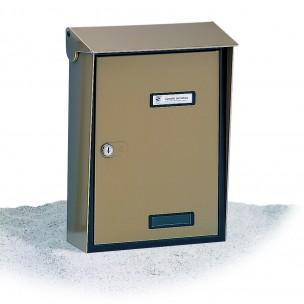 Cassetta Silmec S90 formato rivista in alluminio colore bronzo mod 10-315.73