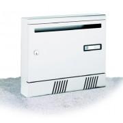 Cassetta Silmec per rivista in alluminio S2001 colore bianco ral 9010 mod 10-361.78