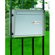 Cassetta passante Silmec per recinzione alluminio silver mod 32-620.72