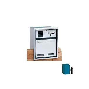 Cassetta da incasso su muro Silmec con 1 pulsante di chiamata mod 20-211.72