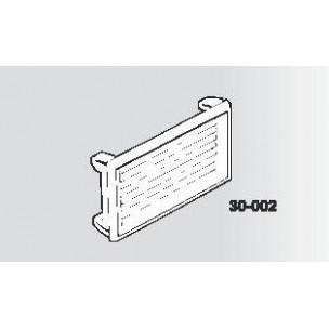 Griglietta Silmec in ABS per vano citofono mod 30-002